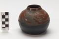 View Miniature pot/vessel with avanyu (water serpent) design digital asset number 0