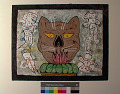 View Cat Head With Figures digital asset number 0