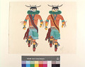 View The Two Zuni Masked Dancers digital asset number 1