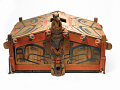 View Model Of An Indian House And Door Post digital asset number 1