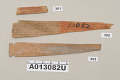 View Miscellaneous Wooden Sticks (From Masks, Etc.) digital asset number 66