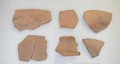 View Sherds And Bowl Section: Crude Reddish-Buff digital asset number 1