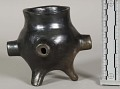 View Pottery Vase (Enlarged Form Of A Pipe Bowl) digital asset number 0