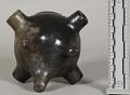 View Pottery Vase (Enlarged Form Of A Pipe Bowl) digital asset number 5