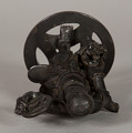 View Bronze Figurine, Being The Lid Of A Censer digital asset number 4