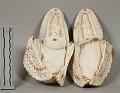 View Moccasins Pair, Decorated digital asset number 0