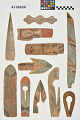 View Incised & Painted Wooden Fragments digital asset number 0