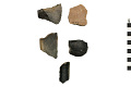 View Culinary Vessel Sherds, Prehistoric Southwestern Pottery Fragments digital asset number 0