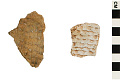 View Corrugated Sherds, Prehistoric Southwestern Pottery Fragments digital asset number 0