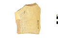 View Yellow Ware Rim Sherd, Prehistoric Southwestern Pottery Fragment digital asset number 1
