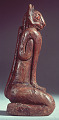 """View Statuette Of Mountain Lion Or Panther Man God """"Key Marco Cat"""" digital asset number 21"""