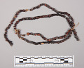 View Necklace Of Brown & Small Black Seeds digital asset number 1