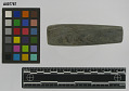 View Tube shape bannerstone or pipe, banded slate digital asset number 0