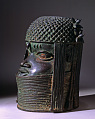View Bronze commemorative head of an oba or king digital asset number 5