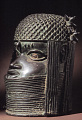 View Bronze commemorative head of an oba or king digital asset number 8
