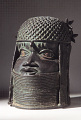 View Bronze commemorative head of an oba or king digital asset number 9