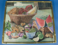 "View Silk Embroidery ""Painting"": ""Basket of Thai Fruits"" digital asset number 2"
