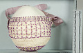 View Infant's Crocheted And Beaded Hood digital asset number 4