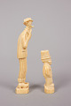 "View ""Mutt"" And ""Jeff"" Carved In Walrus Ivory (Figs.) digital asset number 3"