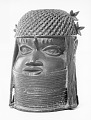 View Bronze commemorative head of an oba or king digital asset number 13