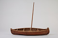 View Canoe and 2 Paddles, Model digital asset number 1