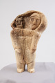 View Whalebone Figurine Of Mother And Child digital asset number 0