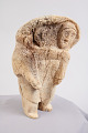 View Whalebone Figurine Of Mother And Child digital asset number 4