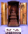 View Buddha In Meditation, Sandal-Wood In Lacquered Shrine digital asset number 0