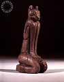 """View Statuette Of Mountain Lion Or Panther Man God """"Key Marco Cat"""" digital asset number 12"""
