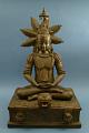 View Buddha Figurine Of Cast Brass digital asset number 1