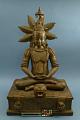 View Buddha Figurine Of Cast Brass digital asset number 0