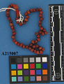 View String Of Beads. Oarneliau. digital asset number 0