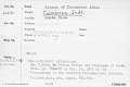 View Census Of Talamanca Indians digital asset number 9