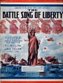 View The battle song of liberty / words by Jack Yellen ; music adapted by George L. Cobb digital asset number 1