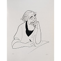 View Al Hirschfeld Self-portrait digital asset number 1