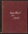 View Dorr Bothwell diary digital asset: cover