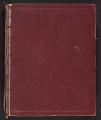 View Dorr Bothwell diary digital asset: cover back