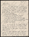 View Jonathan Borofsky letter to Lucy R. Lippard digital asset number 1