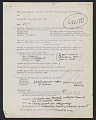 View Lucy Lippard questionnaire for the <em>557,087</em> show filled out by Sol Lewitt digital asset number 1
