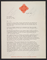 View Miriam Schapiro letter to Lucy R. Lippard digital asset number 1