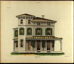 Villa. No. 5, Front Elevation.