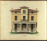 Villa, No. 6. Front Elevation.