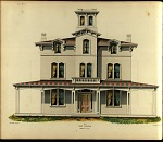 Villa, No. 7. Front Elevation.