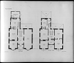 Plans for Villa, No. 8. First Story. Second Story.