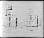 Plans for Cottage No. 12. First Story. Second Story.