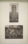 (a) Stela B (Pages 42 & 43). (b) Stela C (Page 44) West Face.