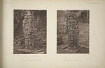 (a) Stela N. (Pages 55_57) North & east side. (b) Stela N. (Pages 55_57) South & east sides.