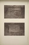 (a) Altar U. (Page 63) East side. (b) Altar U. (Page 63) West side.