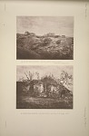 (a) Ruins near Rabinal. View of a group of buildings. See Plates 70 & Pages 25-27. (b) Ruins near Rabinal. A ruined temple, See Plate 70 & Pages 25-27.