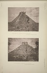 (a) The castillo. (No. 15, Plate 2). The north-east angle. See Plates 55-59 and Pages 7-9 & 35-36. (b) The castillo. (No. 15, Plate 2) the south face. See Plates 55-59 and Pages 7-9 & 35-36.